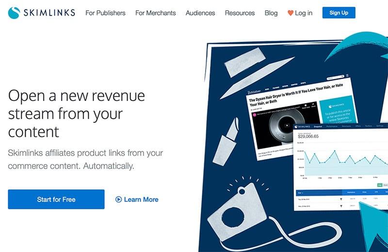Skimlinks Affiliate & Content Monetization Network
