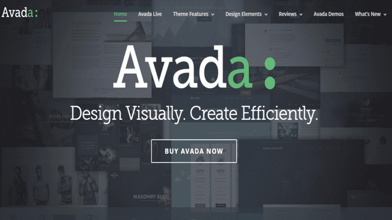 Avada Themeforest Template WordPress