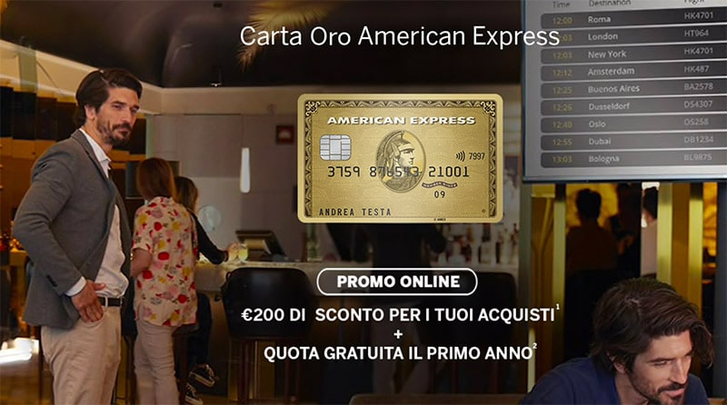 American Express Oro - Promo Online 2019