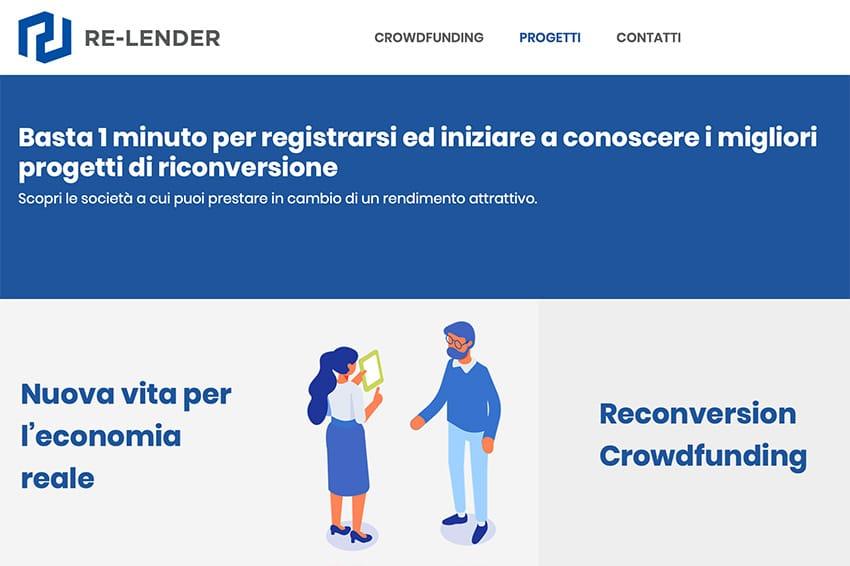 Re-Lender Piattaforma Crowdfunding Come Funziona?