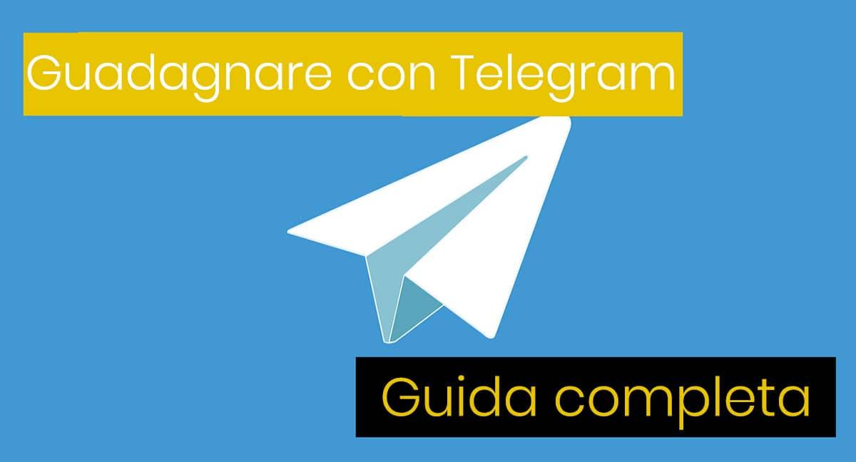 Come Guadagnare Con Telegram?