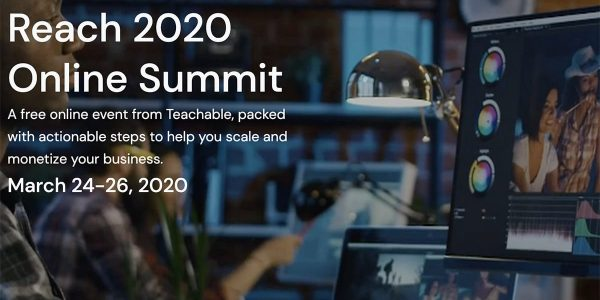 Creare un Business Online Con i Corsi: Teachable Reach Summit