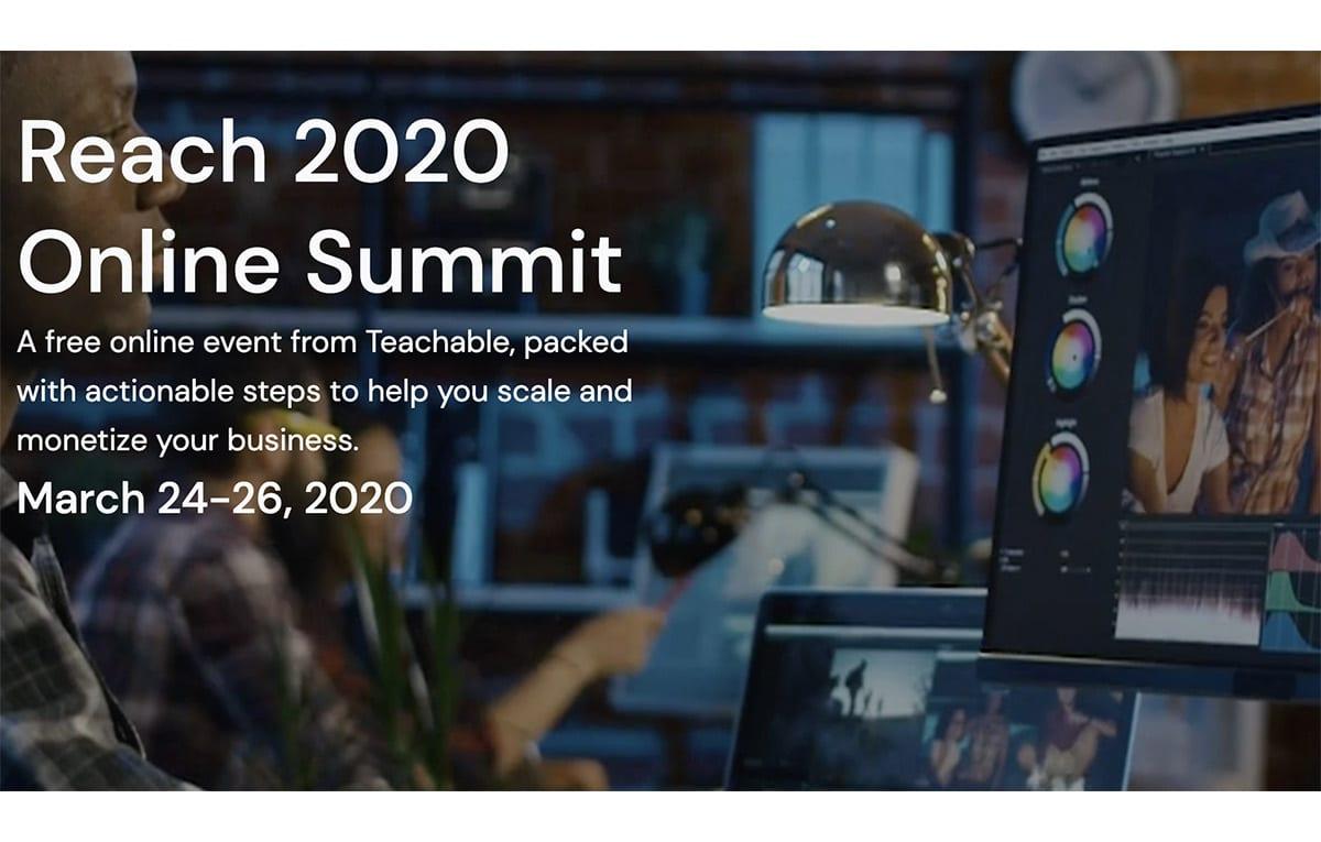 Creare un Business Online Con i Corsi: Teachable Reach Summit