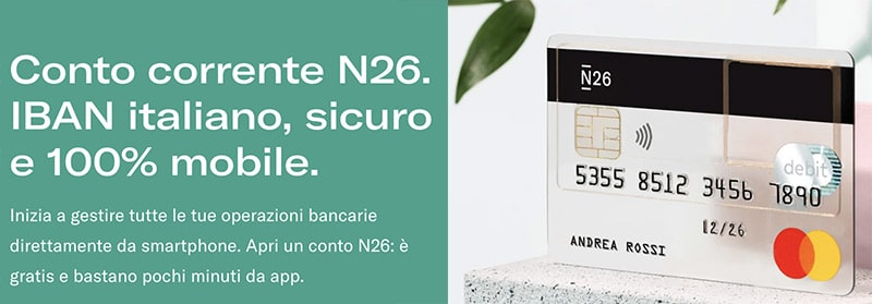 Conto N26 Standard