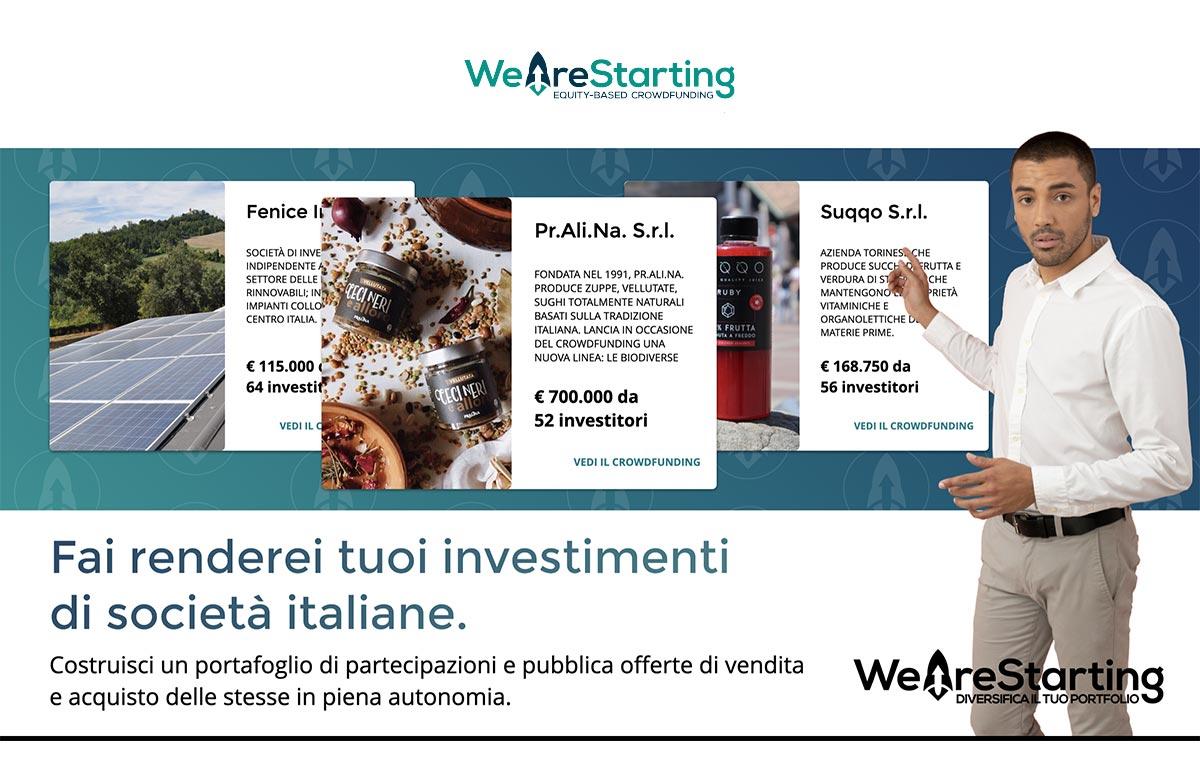 WeAreStarting Come Funziona? Recensione e Opinioni