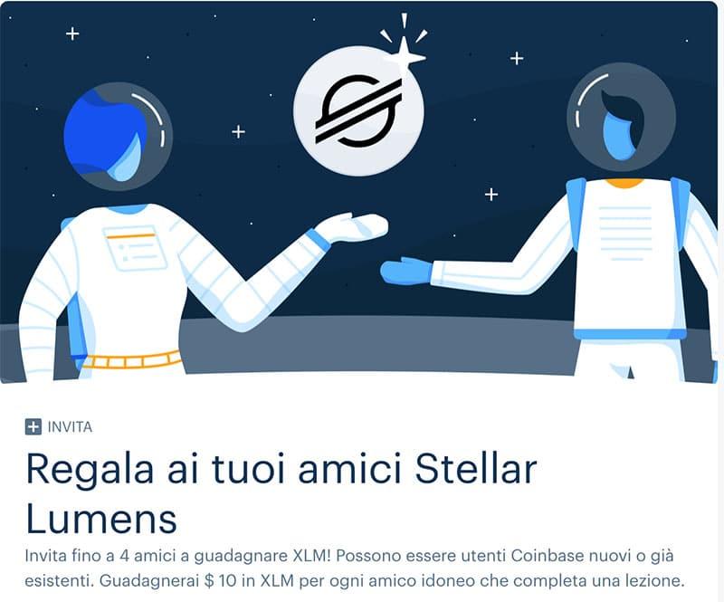 Come guadagnare Stellar Lumens