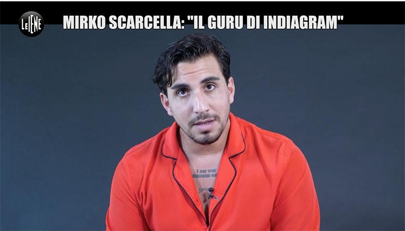 Le Iene Scarcella Indiagram