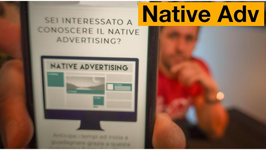 Native Advertising Mastery: il Corso sul Native Advertising?