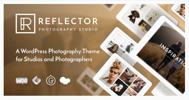 Reflector Photography Studio WordPress Theme