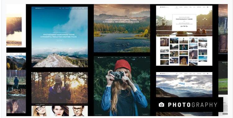 Photography - Temi WordPress Fotografia