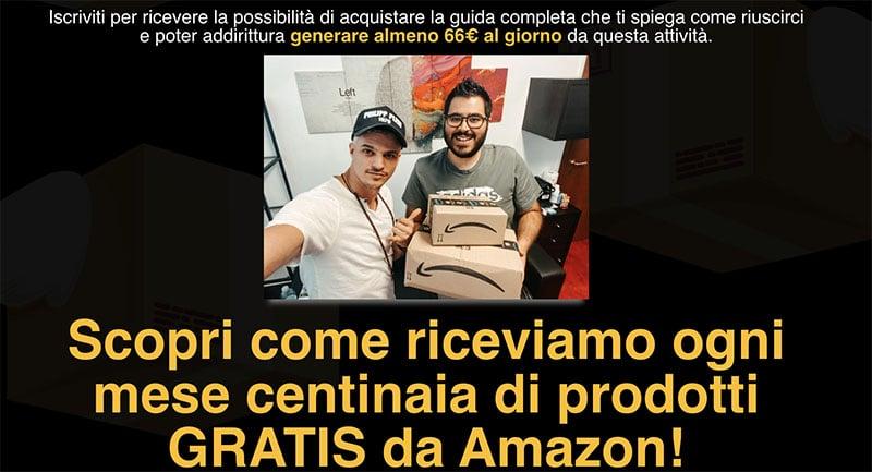 Ricevere Prodotti Amazon Completamente Gratis Guida