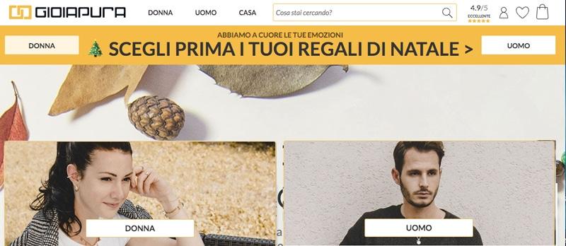 Gioiapura.it Gioielli - Siti e Commerce Migliori