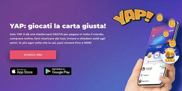 Carta YAP Mastercard e App