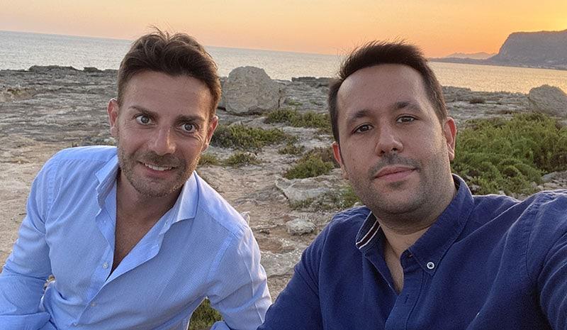 Valerio Novelli e Giampiero Teresi