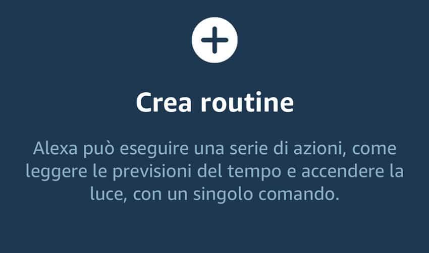 Routine Alexa