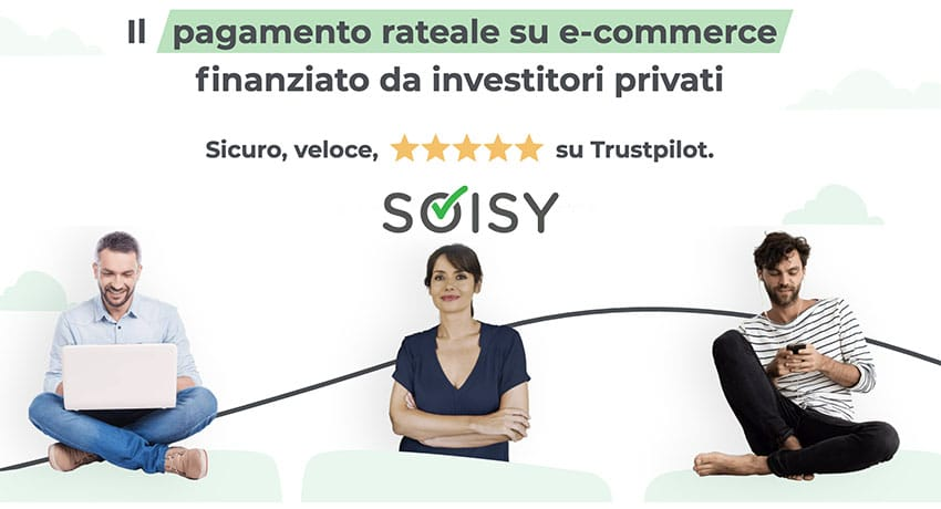 Screenshot Soisy Home Page