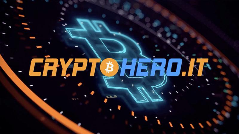 Logo Cryptohero - Corso criptovalute e blockchain