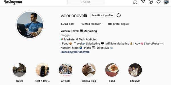 link-in-bio-valerio-novelli-instagram
