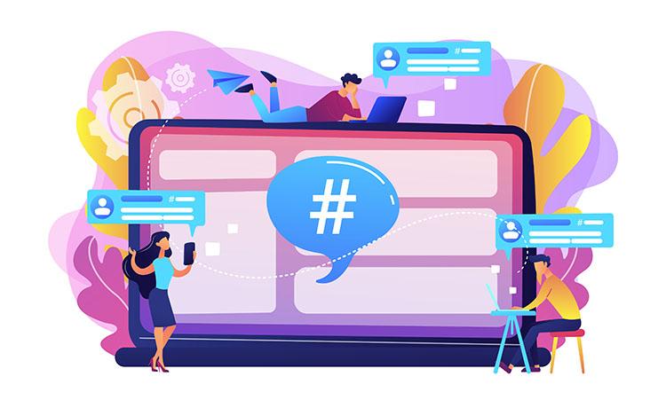 Hashtag Social