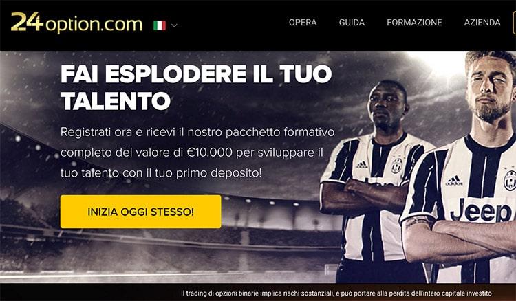 24Option Italia: Opzioni Binarie - Spot 2016