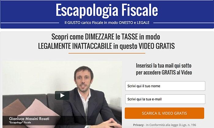 59 Segreti Escapologia Fiscale: Dimezzare le Tasse in Modo Legale?