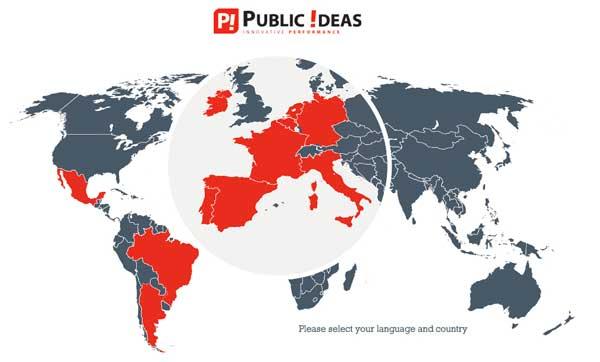 Public Ideas Arriva in Germania