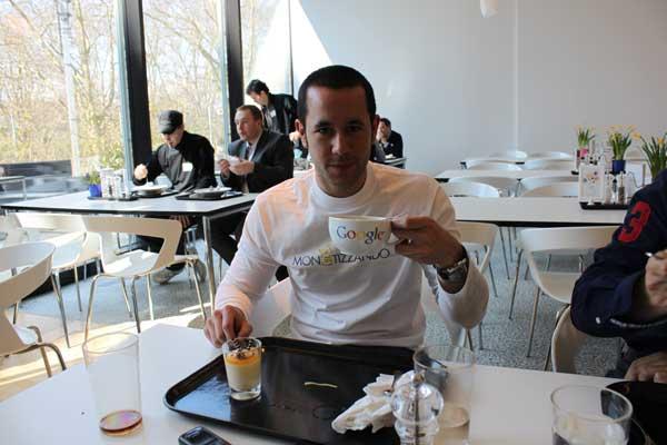 Valerio Novelli presso gli uffici di Google Zurigo - Marzo 2011