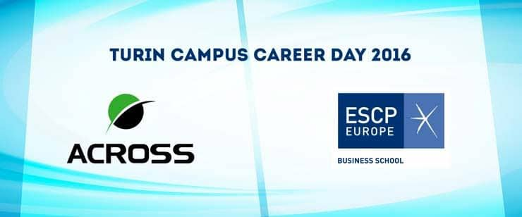 Across incontra i nuovi talenti al Career Day ESCP Europe 2016