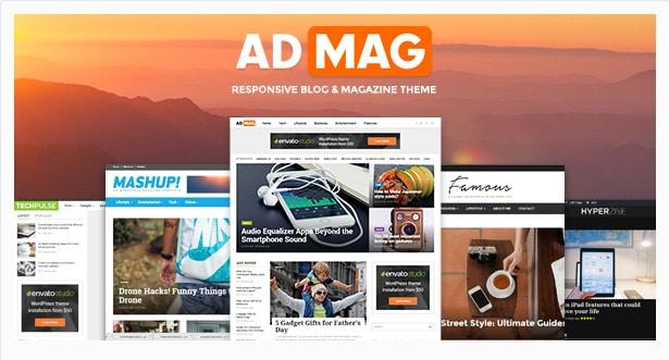 ADMAG - Responsive Blog & Magazine Theme