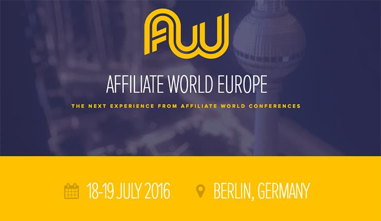 Affiliate World Europe 2016: Perché Non ho Partecipato?
