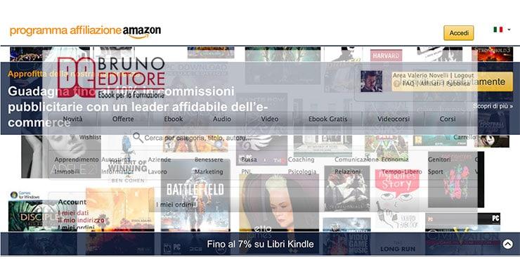 Testing Affiliazione Giacomo Bruno Editore al Via!