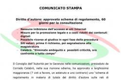 Agcom e Censura Del Web 2011?