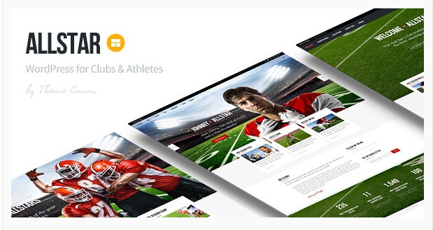 AllStar - WordPress Club Theme