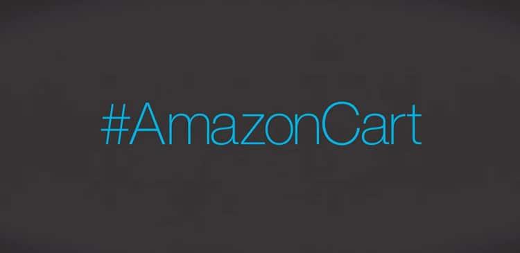 Comprare oggetti su Amazon tramite Twitter: #AmazonCart