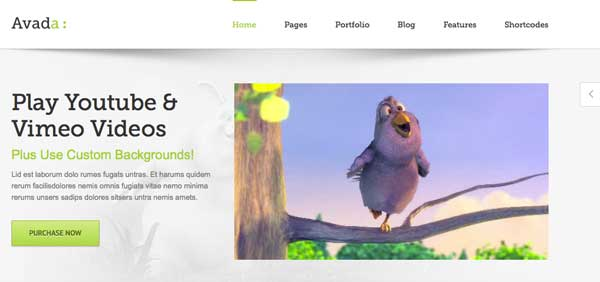 Template Wordpress Themeforest Responsive