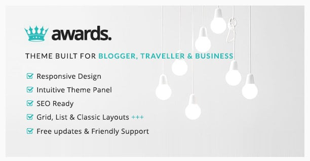 Awards - Minimal WordPress Blog Theme