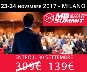 Codice Sconto Marketing Business Summit 2017 Monetizzando