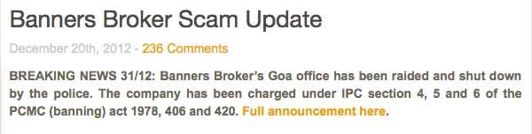 Banners broker sito ufficiale