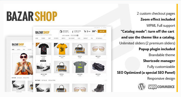 Bazar Shop - Template eCommerce Responsive Multi Purpose