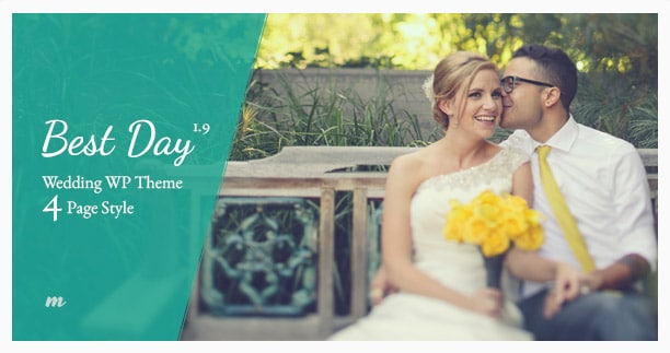 Best Day - Responsive One Page Wedding Theme