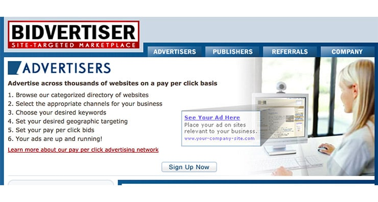 Bidvertiser: Site Targeted MarketPlace (Alternativa AdSense)?