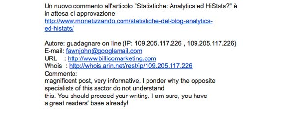 Link Building Black Hat - Billico Marketing Case History