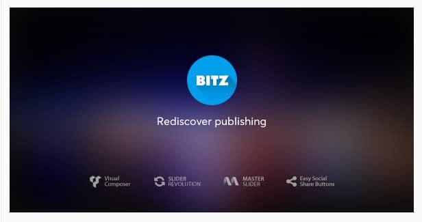 Bitz - News & Publishing Theme