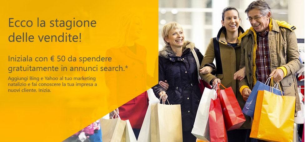 Buono 50 Euro Bing Ads Dicembre 2014: Fai pubblicità su Bing!