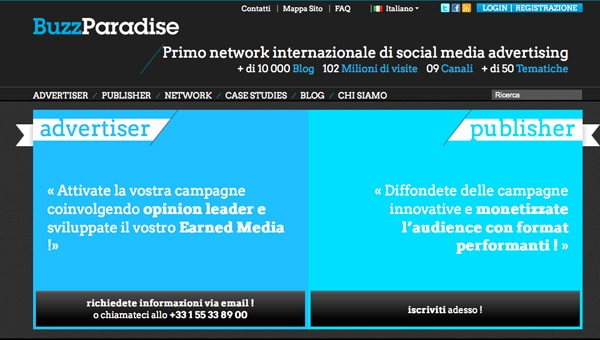 Affiliazioni Online: BuzzParadise: Social Media Advertising?
