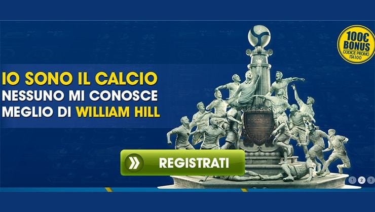 Calcio Scommesse Serie A: Dove Farle Online? William Hill