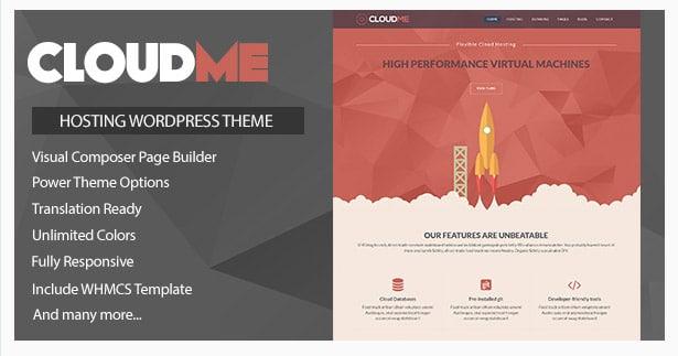 Cloudme Host - WordPress Hosting Theme + WHMCS