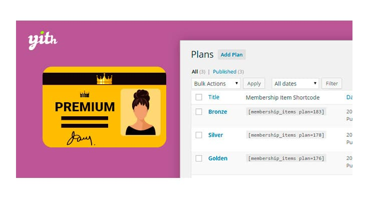 Plugin YiTh Membership WooCommerce WordPress: Come creare membership?