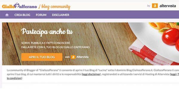 Come Creare un Blog e Guadagnare con Giallo Zafferano?