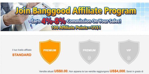 Affiliazione Bangood Italia (eCommerce): Guadagnare Online